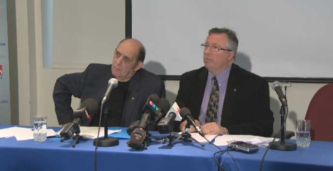Executive committee members Marvin Rotrand and Richard Deschamps say they want tougher laws to prevent corruption at city hall.