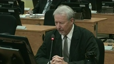 Gilles Surprenant testifies before Charbonneau Commission