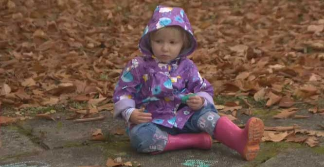 Two-year-old Ella has made a full recovery after a seizure this weekend.
