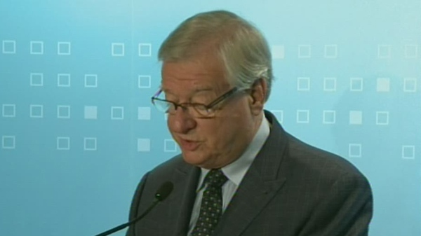 "Laval mayor Gilles Vaillancourt says he is temporarily stepping down ""for health reasons."" (Oct. 24, 2012)"