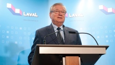Laval mayor steps aside