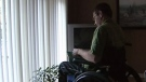 Marc Girard, who has Multiple Sclerosis, worries about cuts to homecare services he relies on.