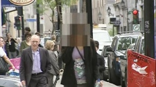 'Lola' walks toward court in this file photo from May 2010.