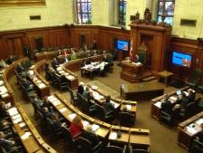 Montreal City Hall interior