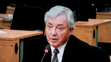 Gilles Vezina testifies before the Charbonneau Com