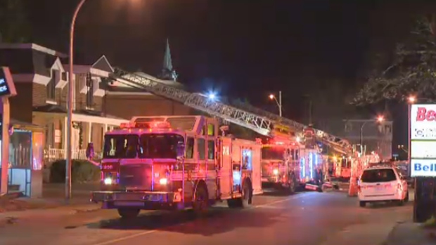 Arson at Taillefer offices in Laval