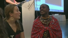 CTV Montreal: Maasai in Montreal for exchange
