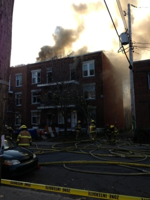 Matthew Stephen 926 Osborne St. fire