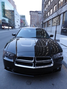 Montreal police Dodge Charger Front
