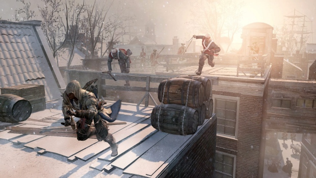 This video game image released by Ubisoft shows an