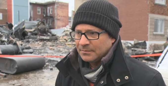 Sylvain Vaillancourt said he plans to rebuild the family business.