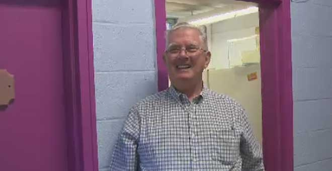 Retired firefighter Joe Quinn loves to give back to the community.