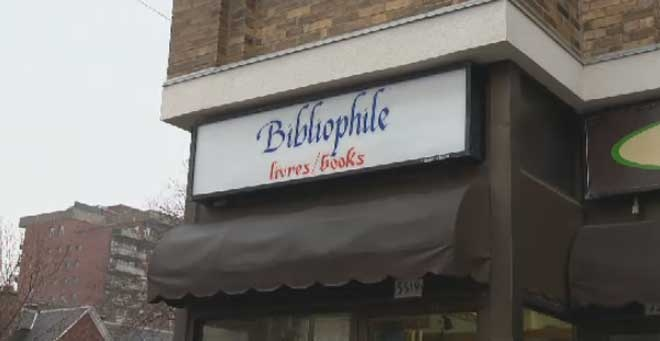 Bibliophile is found at 5519 Queen-Mary Rd.