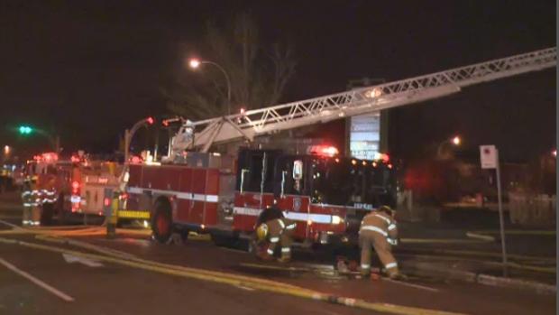 Montreal firetruck