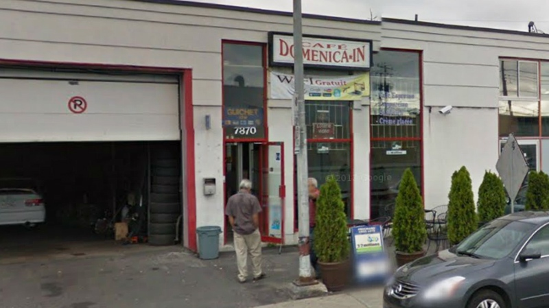 The shooting took place at this cafe Friday afternoon (Image: Google Maps)