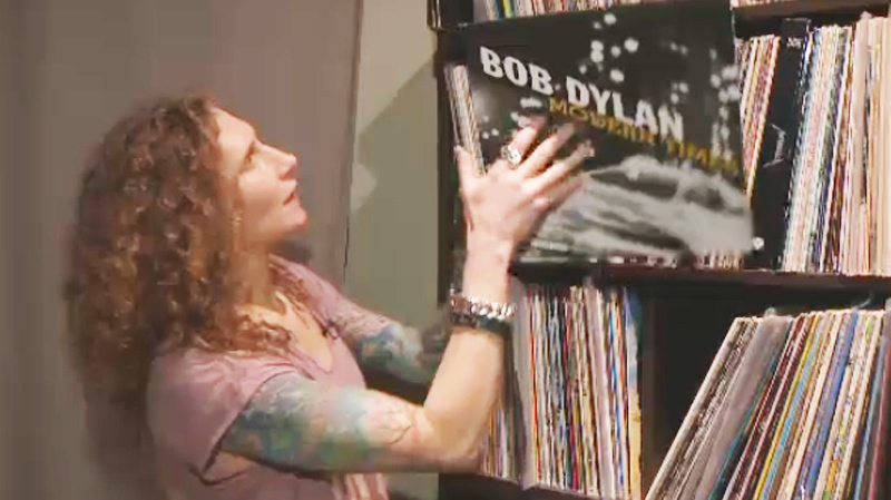 Jennifer Cytrynbaum of Coup de foudre audio is a big proponent of vinyl audio.