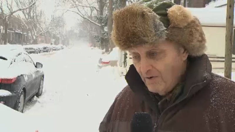NDG resident Bob McDevitt had scathing words for the city's snow-clearing efforts.
