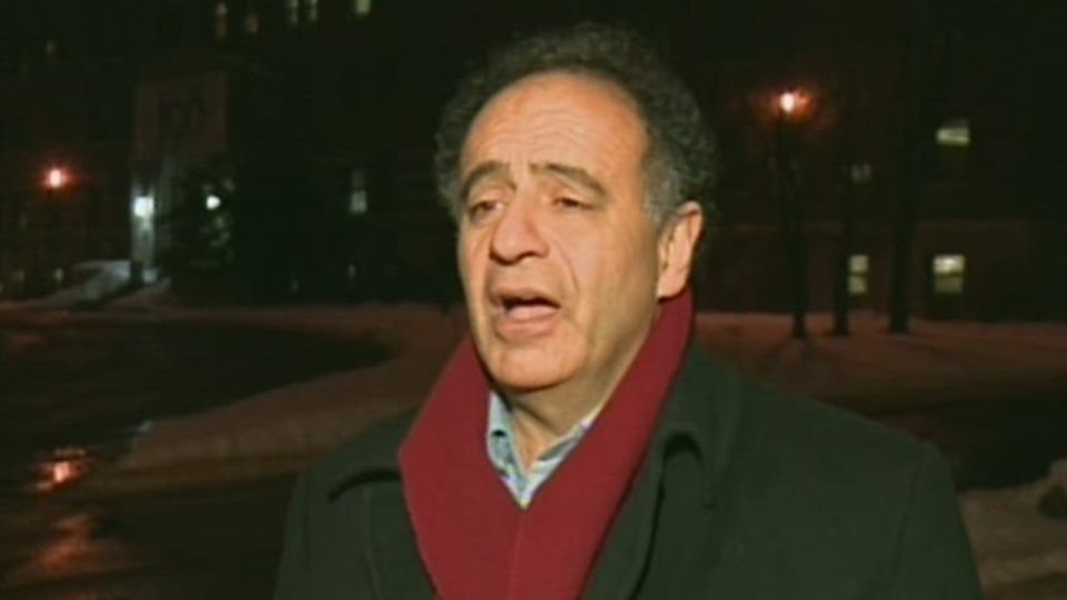 Dr. Paul Saba wants to see Lachine hospital remain under the control of the MUHC (Jan. 9, 2013)