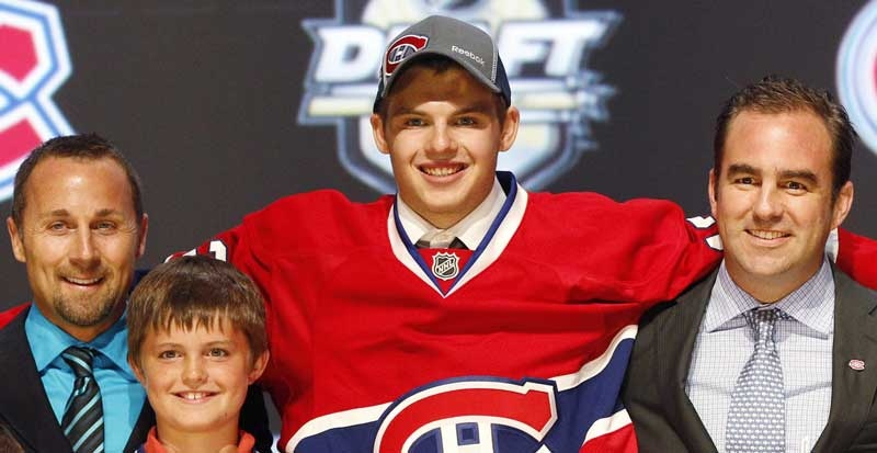 Alex Galchenyuk is one of five Habs hopefuls called up by Marc Bergevin.