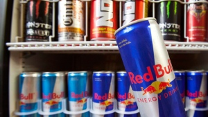 Energy drinks are shown in a store on Monday July 26, 2010 in Montreal.  (Paul Chiasson / THE CANADIAN PRESS)