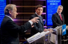 Quebec Liberal leadership contenders debate