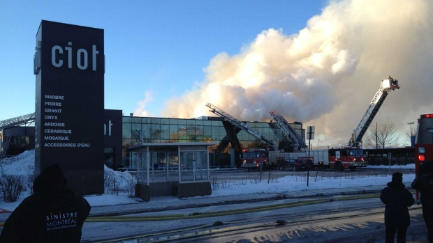 General Alarm Fire On St Laurent Blvd Following Fire