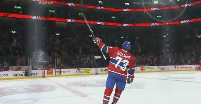 Brendan Gallagher has four goals so far this season.