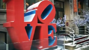 love sign in montreal