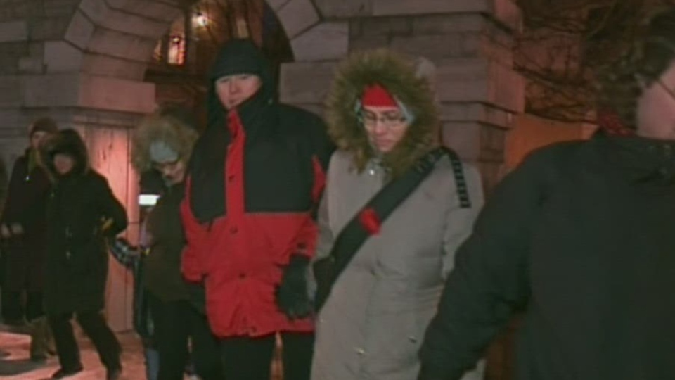 Hundreds in Montreal to remember missing and murdered aborignal women (Feb. 14, 2013)