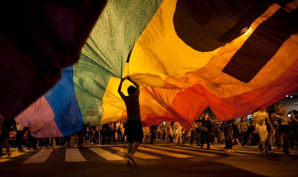 Pride parade (AP Photo/Natacha Pisarenko)