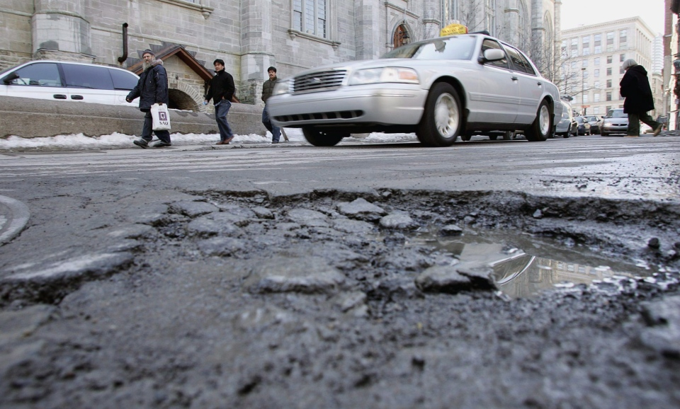 Extreme fluctuations in early spring temperatures along with lots of rain have unearthed a high number of potholes that are exposing motorists to hefty repair bills.