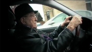 Paul Dube is 101 years old and still behind the wheel. (Feb. 14, 2011)