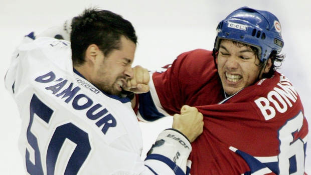 Habs and Leafs, a brutaly rivalry