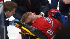 Lars Eller left bloodied, unconscious