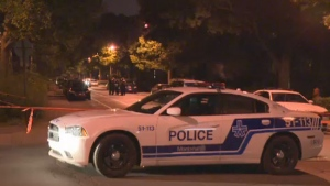 Montreal police generic night