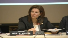 EMSB chairperson Angela Mancini