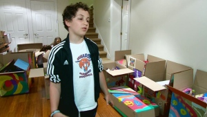 Inspired by the show Storage Wars, Harry Mastrogiuseppe raised funds for school supplies in Africa