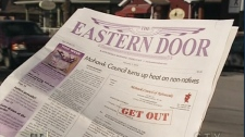 The Eastern Door is nominated for a Michener Prize in Public Service journalism.