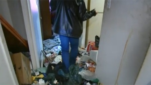 At its worst, the problem of hoarding can become a safety hazard. (May 6, 2011)