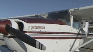 A Cessna 172 is seen in this undated CTV News file photo.