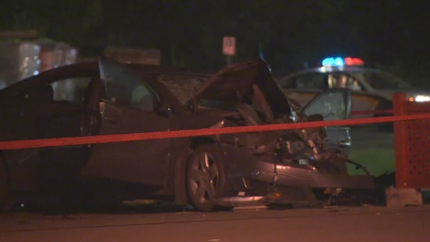 Car crash kills two men in laurentians ctv montreal news for Meuble aubaine st felix de valois