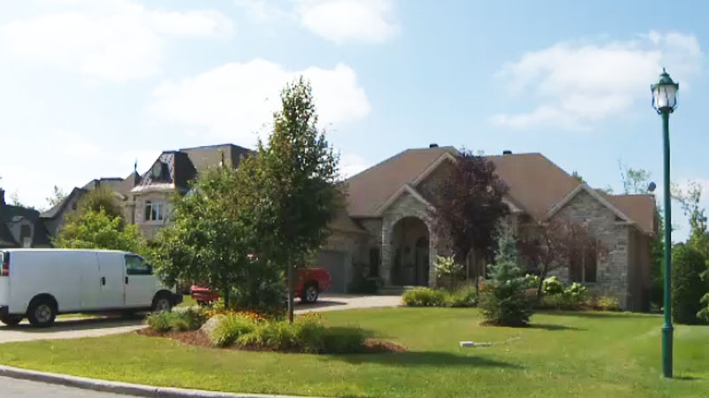 Vito Rizzuto moved into this Laval home on July 1. (CTV Montreal Aug. 29, 2013)