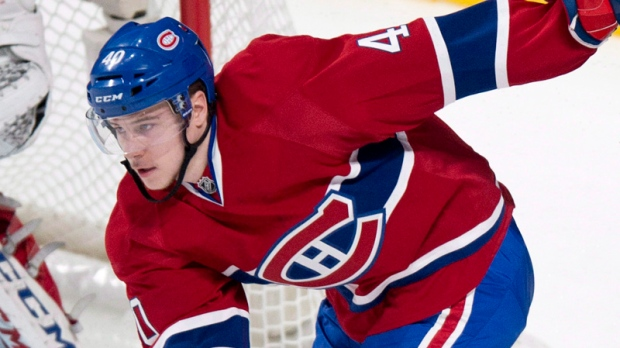 Nathan Beaulieu has been called back up to the Montreal Canadiens. (CP file photo)