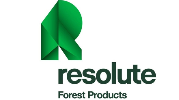 The corporate logo of Resolute Forest Products (TS