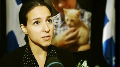 Allana Devine of Montreal's SPCA would like to see measures to control the cat and dog overpopulation issue.