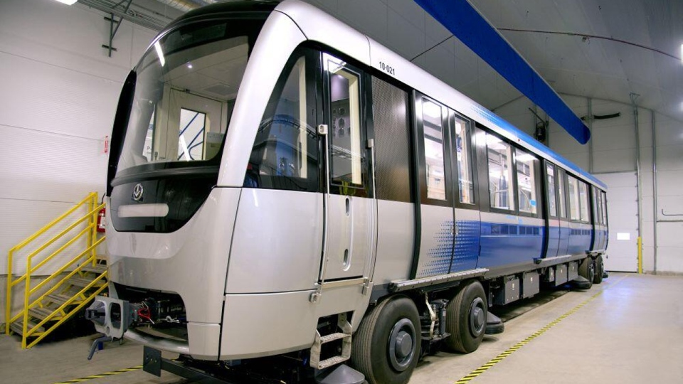 Bombardier Unveils First Of The New Azur Metro Cars