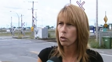 Terrasse-Vaudreuil city councillor Penny Boulianne opposes the new traffic lights.