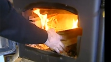 The Quebec government announced Monday a plan designed to eliminate some wood burning stoves in Montreal. (CTV Montreal)