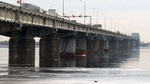 A replacement for the Champlain Bridge is being pr