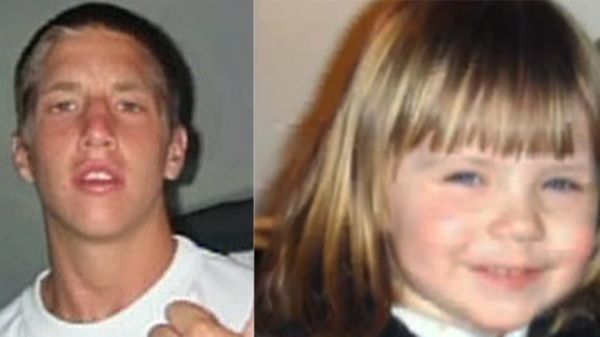 Brandon Pardi, left, was behind the wheel when Bianca Leduc, right, died while playing on her lawn.